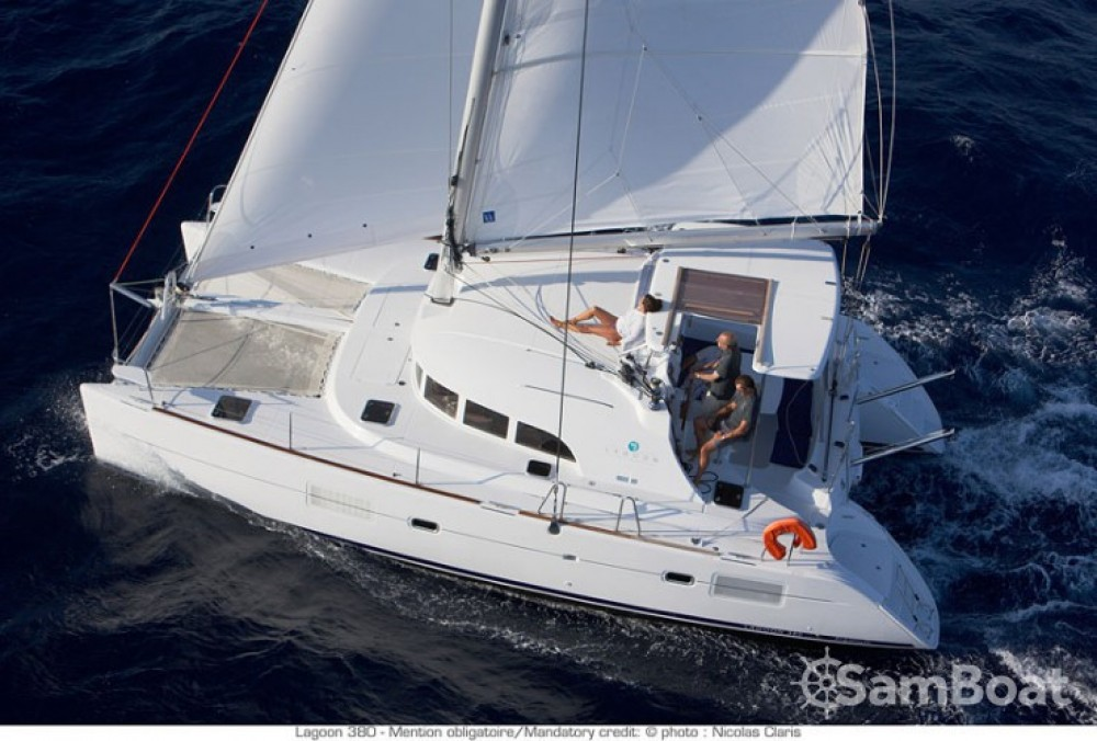 Rental Catamaran in Croatia - Lagoon Lagoon 380