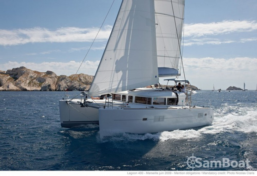 Rental Catamaran in  - Lagoon Lagoon 400