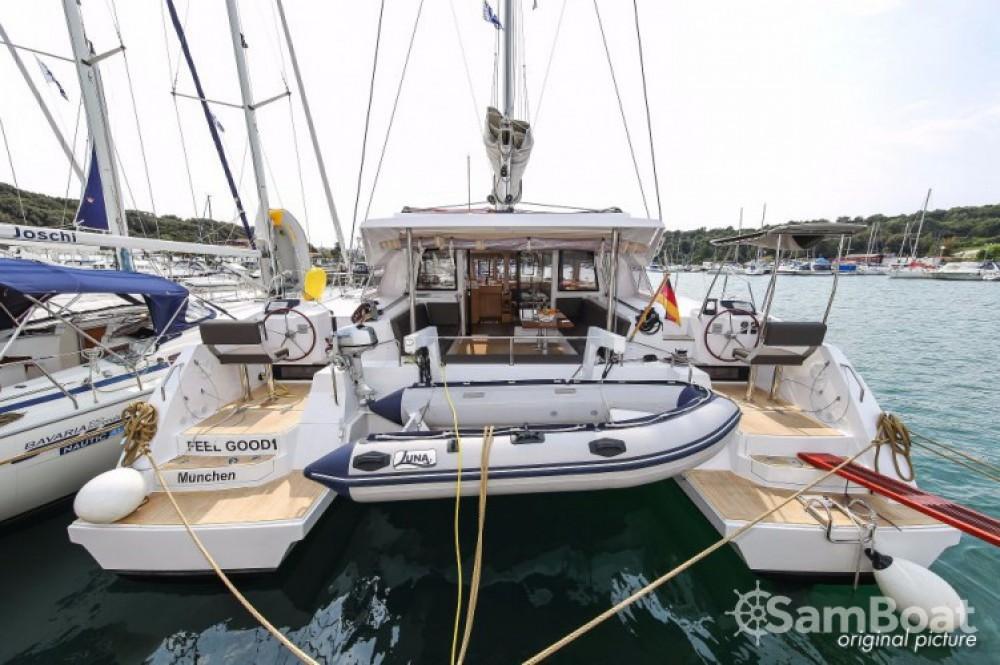 Boat rental  cheap Nautitech 46