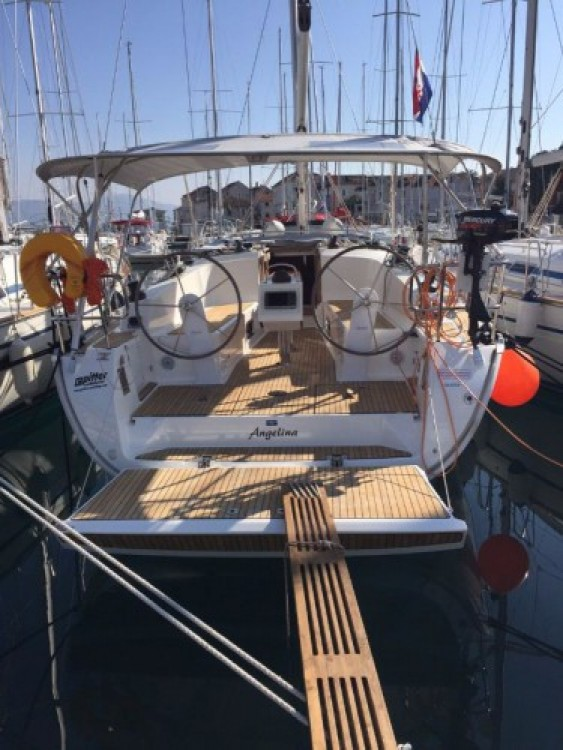Boat rental Croatia cheap Cruiser 41