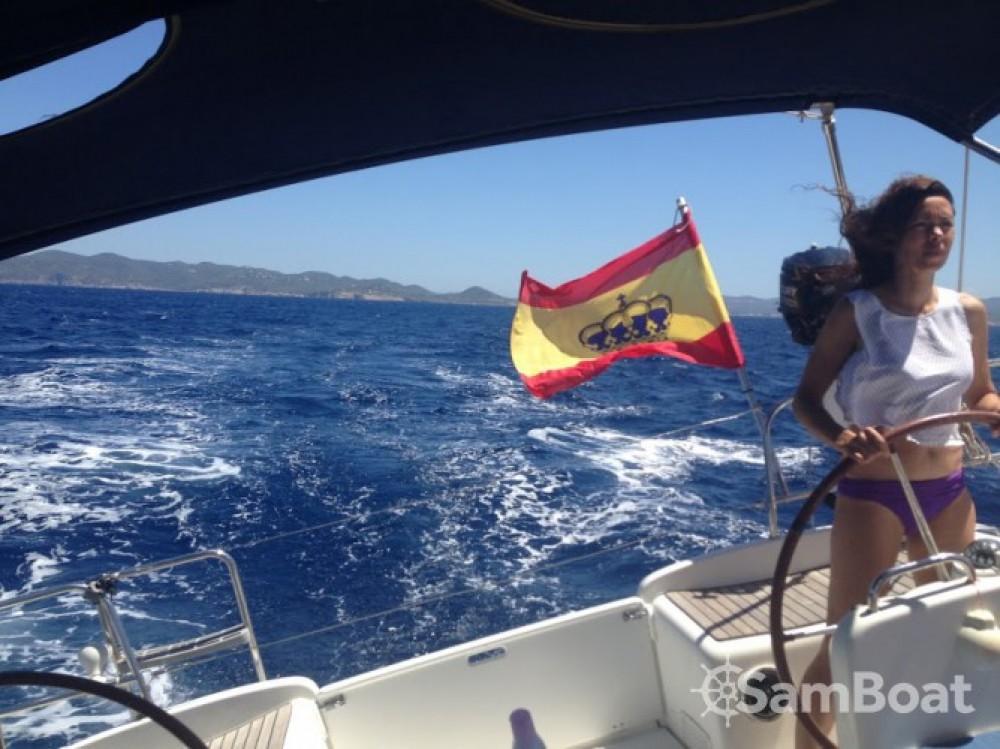Boat rental Dénia cheap Cyclades 50.5
