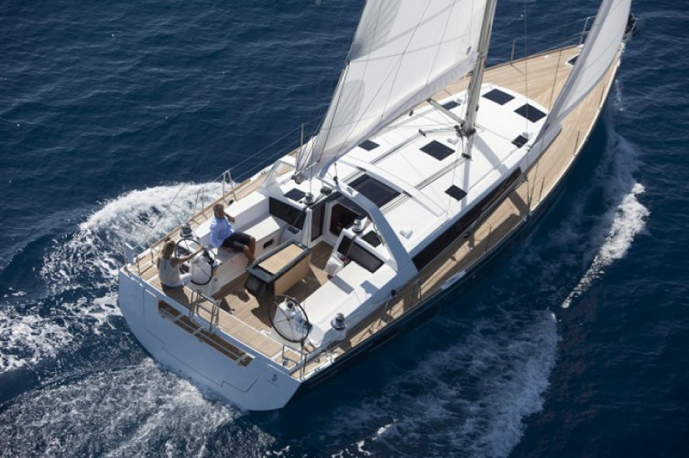 Bénéteau Oceanis 48 between personal and professional Seget Donji