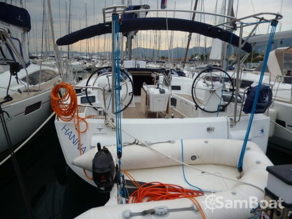 Jeanneau Sun Odyssey 509 between personal and professional Seget Donji