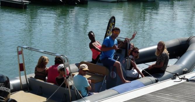 Boat rental La Rochelle cheap Narwhal 900 Fast