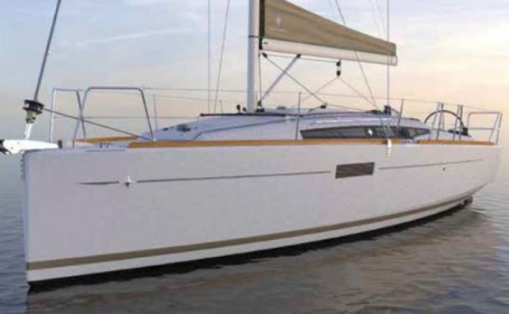 Boat rental Hyères cheap Sun Odyssey 349