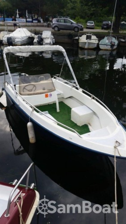 Rental Motorboat Languedoc-Marine with a permit