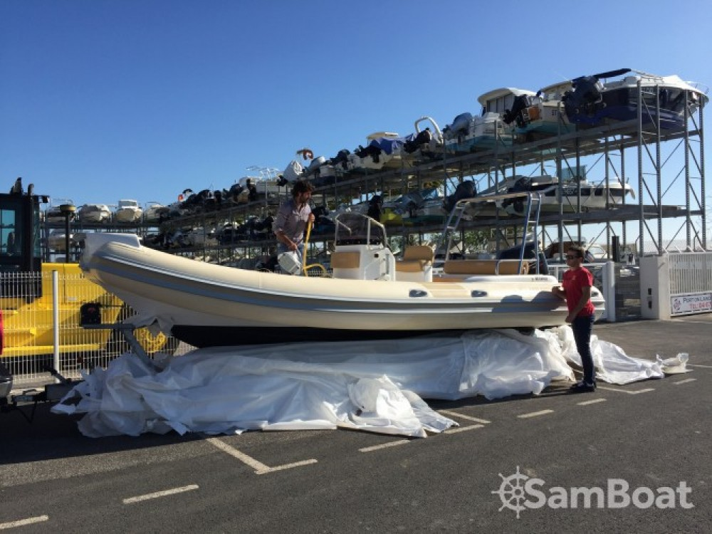 Boat rental Nautica Led GS XL 6.80 in Palavas-les-Flots on Samboat