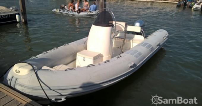 Rental RIB Caribe with a permit