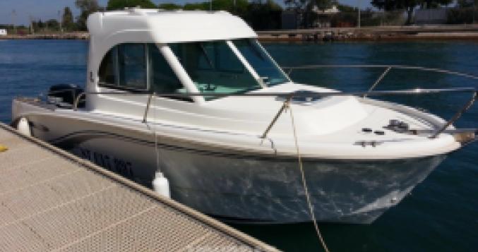 Rental Motorboat in San-Damiano - Bénéteau Antares 6