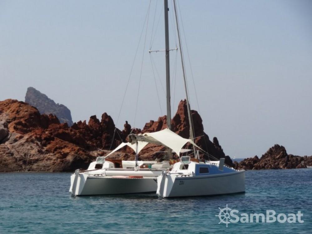 Catamaran for rent Saint-Tropez at the best price