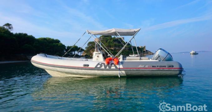 Boat rental Bwa Sport 22 GT in Saint-Raphaël on Samboat