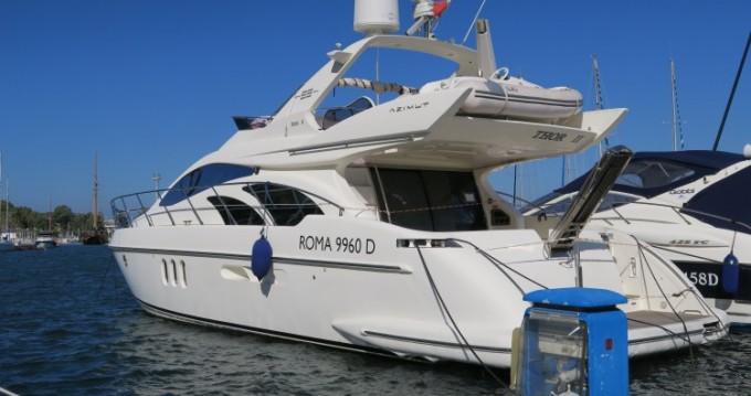 Boat rental Olbia cheap Azimut 55 Fly