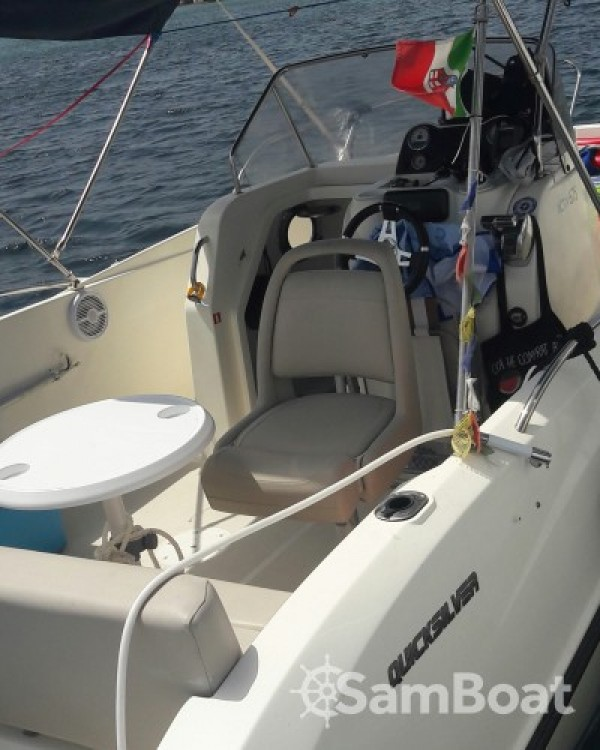Rental Motorboat in Alghero - Quicksilver Activ 675 Open