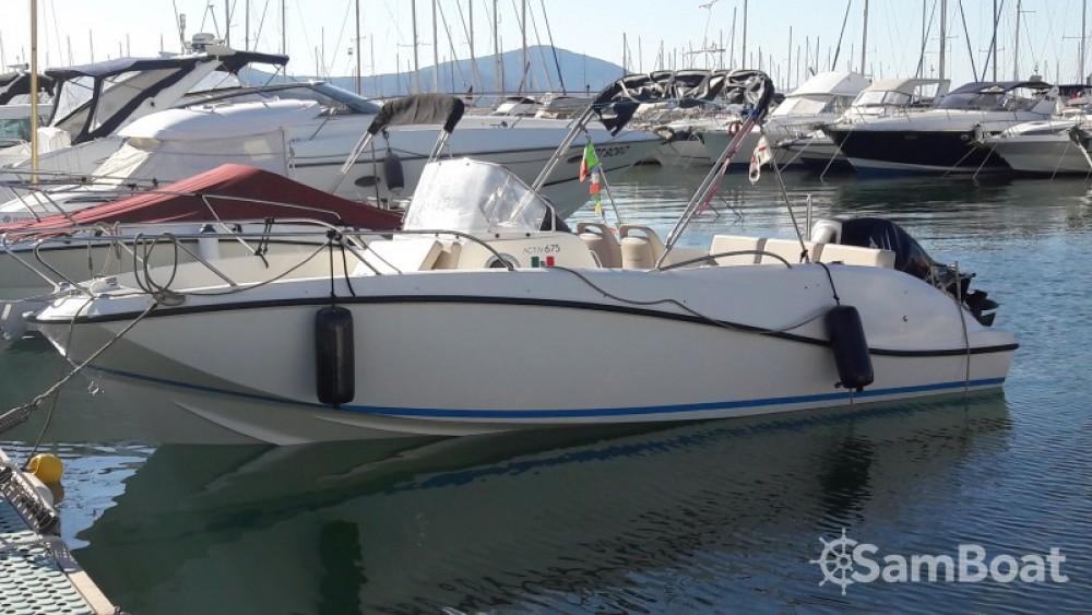 Boat rental Quicksilver Activ 675 Open in Alghero on Samboat
