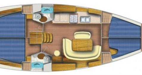 Rental yacht Toulon - Jeanneau Sun Odyssey 45 on SamBoat