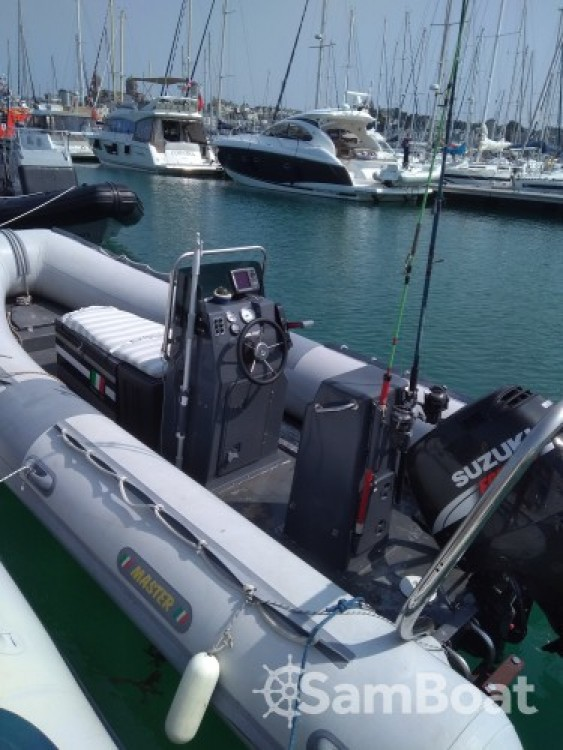 Hire RIB with or without skipper Mastersas Granville