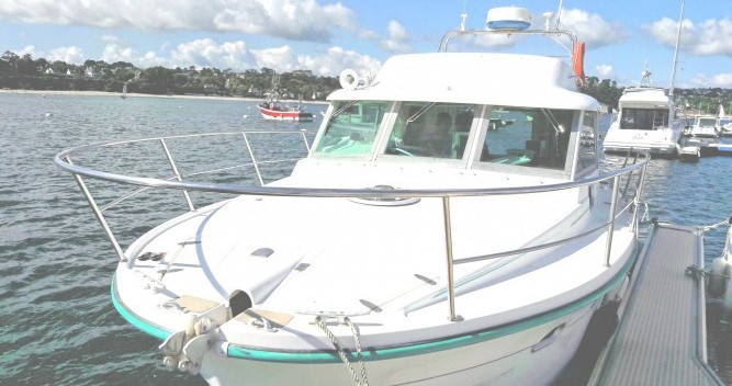 Hire Motorboat with or without skipper Ocqueteau Morgat