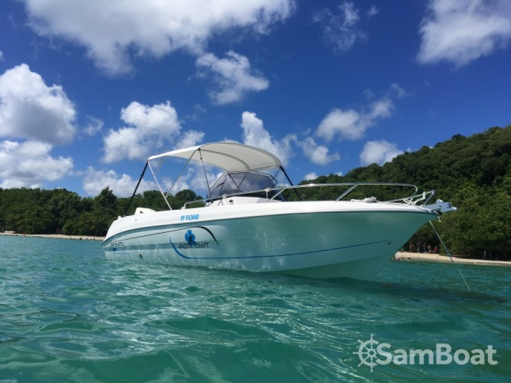 Rent a Pacific Craft Pacific Craft 670 Open Martinique