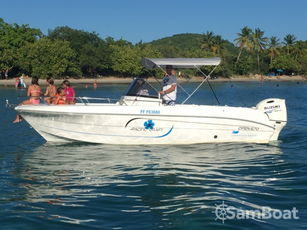 Pacific Craft Pacific Craft 670 Open between personal and professional Martinique