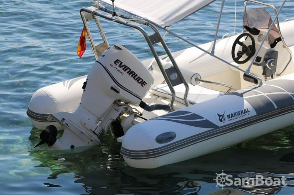 Boat rental Balearic Islands cheap Narwhal H 520