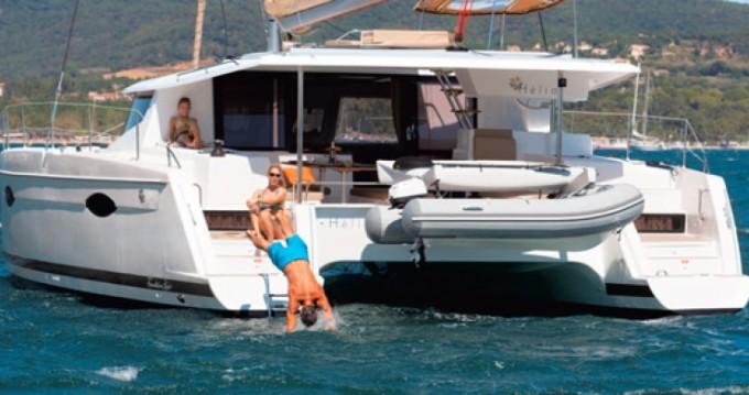 Rental Catamaran in Le Marin - Helia 44