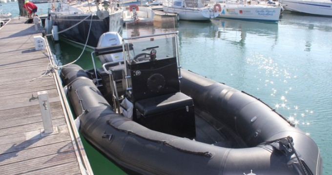 RIB for rent Port-Joinville at the best price