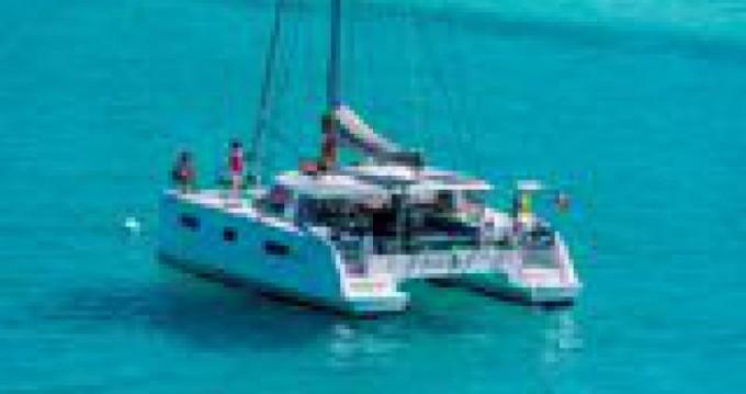 Boat rental Pointe-à-Pitre cheap Nautitech 40