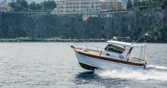 Maresca Sparviero 700 between personal and professional Positano