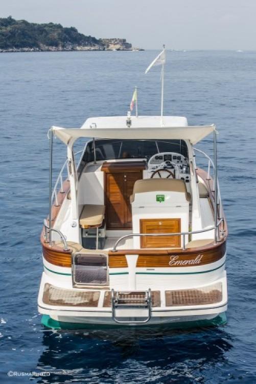 Boat rental Positano cheap Sparviero 700