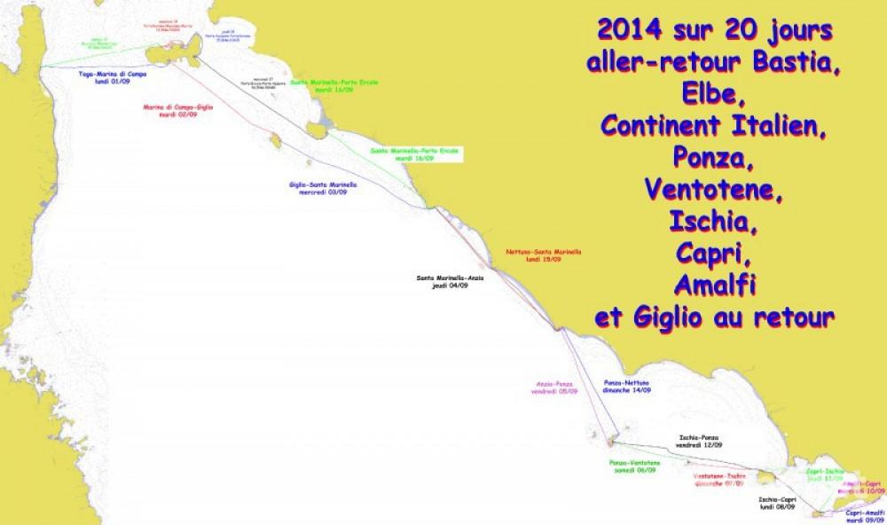 Rental yacht Bastia - Jeanneau Sun Odyssey 40 on SamBoat