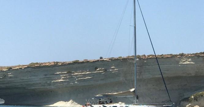 Boat rental Ta' Xbiex cheap Oceanis 54