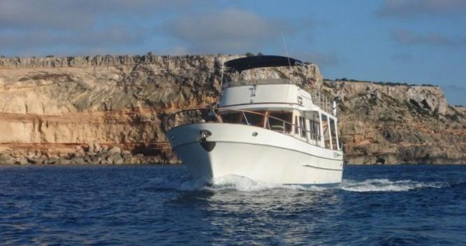 Modern-Yacht Gemar 42s between personal and professional Ibiza Island