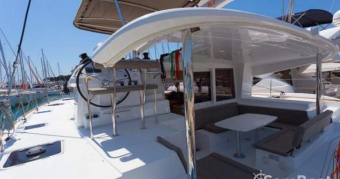 Lagoon Lagoon 400 between personal and professional Ibiza Town
