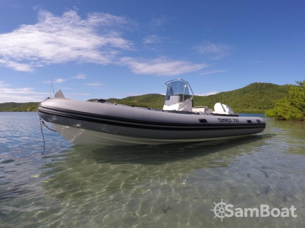 Boat rental Le Robert cheap Tempest 700
