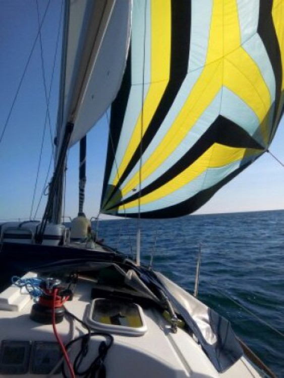 Dufour Dufour 365 between personal and professional Capbreton