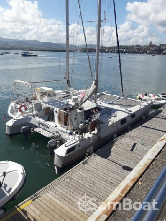 Rental Catamaran in Hendaye - Fountaine Pajot louisianne