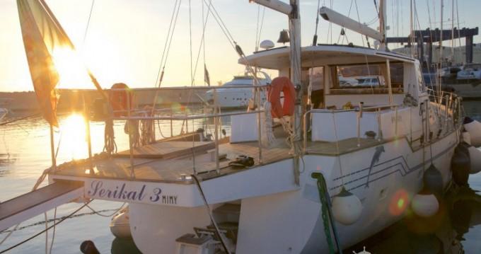 Boat rental Sant Antoni de Portmany cheap Bordogna Pacifico 77