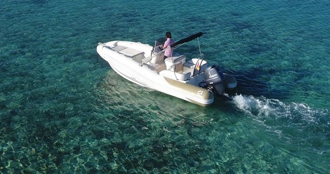 Hire RIB with or without skipper Zodiac Ibiza Town