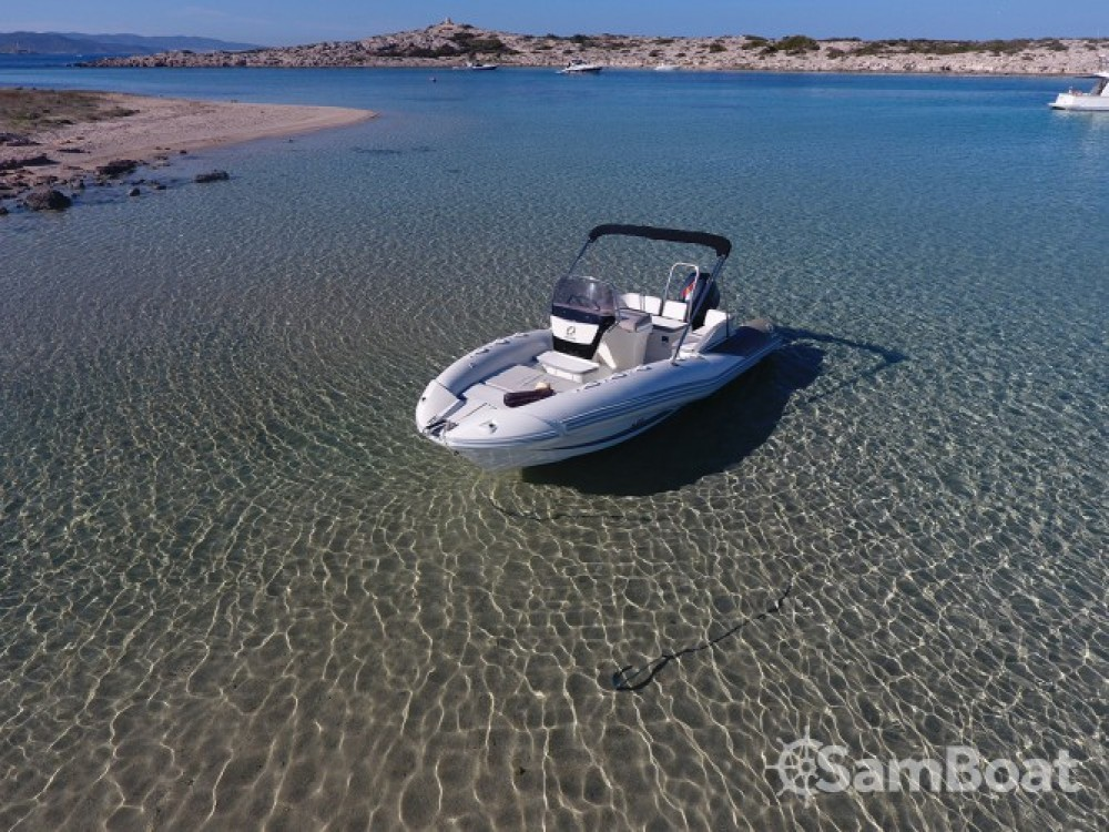 Boat rental Zodiac N-ZO 600 in  on Samboat