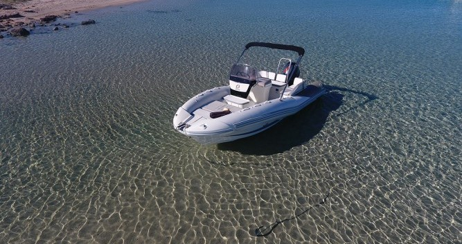 Rental yacht Ibiza Town - Zodiac N-ZO 600 on SamBoat