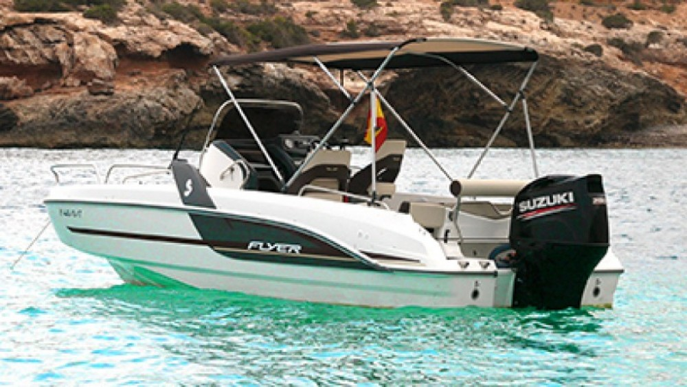 Boat rental Bénéteau Flyer 6.6 in Ibiza on Samboat