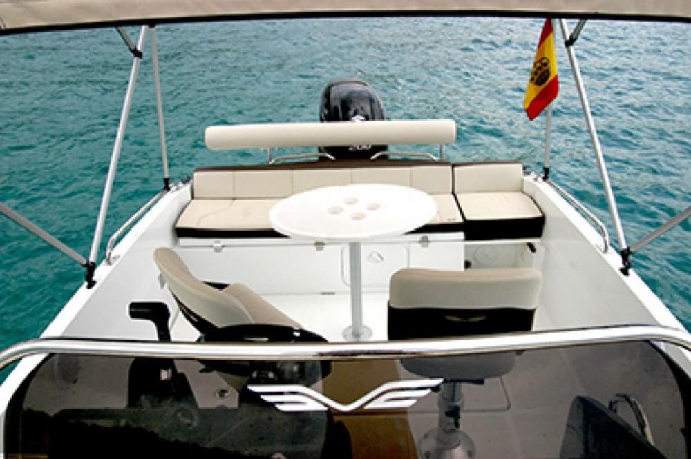 Boat rental Ibiza cheap Flyer 6.6
