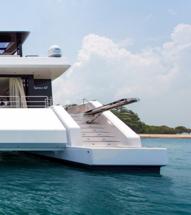 Hire Yacht with or without skipper Sunreef Palma