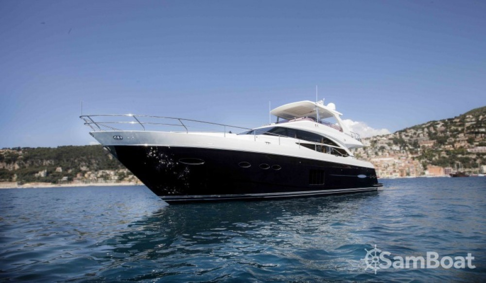 """Princess 22.35 metres (73' 4"""") between personal and professional Antibes"""