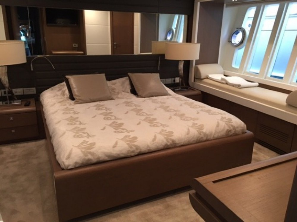 "Rental yacht Cannes - Ferretti 24.71 metres (81' 1"") on SamBoat"