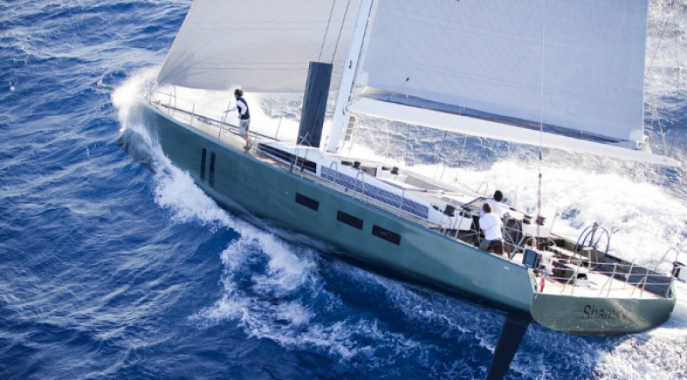 """Maxi-Dolphin 22.40 metres (73' 6"""") between personal and professional Antibes"""