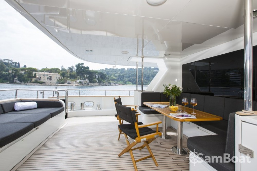 "Boat rental Fifth-Ocean-Yachts 23.90 metres (78' 5"") in Naples on Samboat"