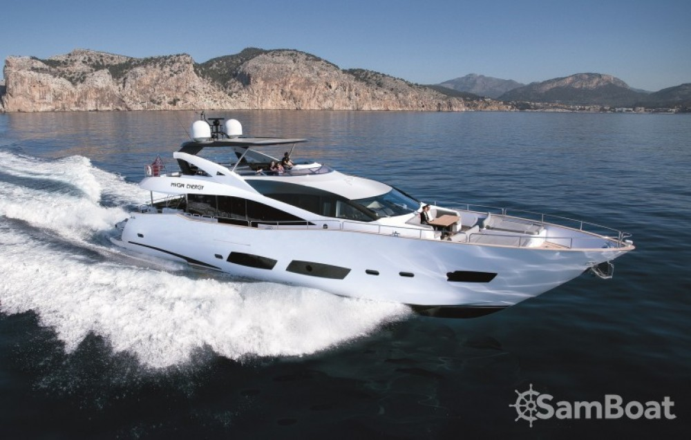 Rental Yacht Sunseeker with a permit