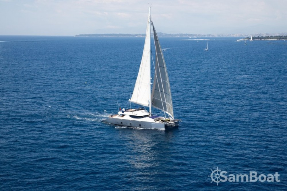 Rental Catamaran Olivier-Racoupeau with a permit