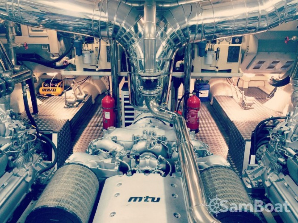 """Rental yacht Cannes - Andrea-Bacigalupo 34.11 metres (111' 11"""") on SamBoat"""